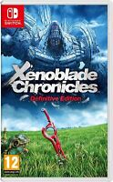 XENOBLADE CHRONICLES DEFINITIVE EDITION - NINTENDO SWITCH - BRAND NEW & SEALED