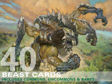 40X Beast Cards (Includes Rares!) MTG Magic  40 Card Lot Collection Deck-