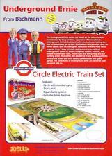 Undeground Ernie Bachmann LT Circle Line Joella 2006 4 side A4 Tube Train Subway