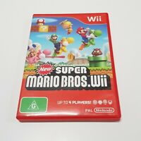SUPER MARIO BROS. (Nintendo Wii) PAL Video Game - Complete