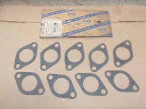 1932-1953 Ford Mercury V8 NORS McCord EXHAUST MANIFOLD GASKET SET Made In USA