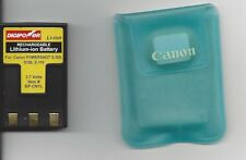 Battery that is Lithium-Ion Rechargeable (for Canon PowerShot S-300, S100. S-110