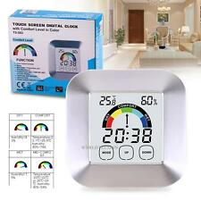 Digital LCD Indoor/ Outdoor Temperature Humidity Meter Thermometer Hygrometer