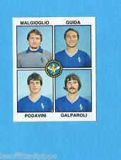 PANINI CALCIATORI 1979/80-Figurina n.341- MALGIOGLIO+GUIDA+PODAVINI -BRESCIA-Rec