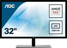 AOC Q3279VWF 31.5 inch QHD LED Monitor - 2560 x 1440, 5ms, FreeSync, HDMI, DVI