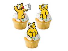 24 X BBC Children in Need Pudsey Oso Soporte UPS Edible Hada Cup Cake Toppers