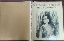 Norman Lindsay - Pencil Drawings - 1969 - 1st Edition - Hardcover w/ Jacket