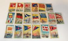 "(19) 1909-11 T59 Flags of All Nations ""Sweet Caporal"" Little Cigars C... Lot 422"