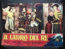 FOTOBUSTA CINEMA - IL LADRO DEL RE - ANN BLYTH - 1955 - AVVENTURA - 11