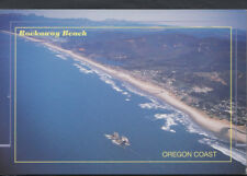America Postcard - Aerial View of Rockaway Beach & Twin Rocks, Oregon    RR3850