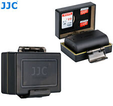 2 x JJC Water-Resistant Battery SD Card Case for Nikon EN-EL15 EN-EL20 EN-EL23