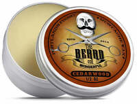 Cedarwood Moustache Wax (15ml) Premium Strong for styling, twists & curls