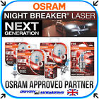 OSRAM NIGHT BREAKER LASER (NEXT GENERATION) +150% H1 H3 H4 H7 H8 H11 HB3 HB4
