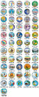 COMPLETE SET of ALL 56 Statehood State U.S. Quarters Coins * COLORIZED * $99 NEW