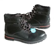 ROCKPORT men size 8 HYDRO-Shield Waterproof Boots Black New