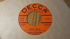 Sammy Kaye And His Orchestra - Night Train / A Bedtime Story ~ Promo ~ (M-)