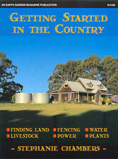 Getting Started in the Country Chambers pb NEW,land,stock,water,plants,fencing