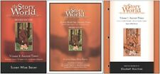 Susan Bauer - Story of the World 1: Ancient Times SET of 3 - Bk, Act, Tests NEW
