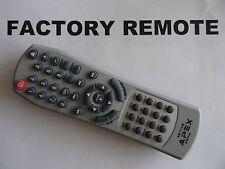 APEX DIGITAL RM1115 DVD PLAYER REMOTE CONTROL