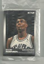 David Robinson 1990 Star Company San Antonio Spurs 11-card Basketball Set