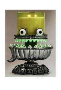 Bath & Body Works Monster Light Up Pedestal Candle Holder~NWT~Halloween 2021~