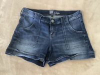 """Kut from the Kloth Blue Jean Shorts Size 8 Lightly Distressed 3.5"""" Inseam (#817)"""
