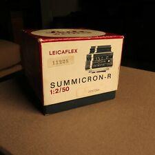 Box Only Leica Leitz Leicaflex 11228 Summicron-R 1:2 / 50mm