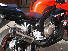 Hyosung GTR125 / GT125 COMET Stainless Tri Carbon Outlet ROAD LEGAL MTC Exhaust