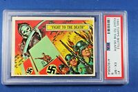 1965 Topps Battle Cards - #1 Fight To The Finish - PSA ExMt 6