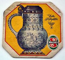 Edle Trinkgefabe. Beck's. Beer Pad. Excellent condition. (BI#BX87)