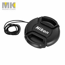Camera Snap-on Replacement Front Lens Cap for Nikon Canon 52 55 58 62 67 72mm