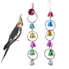 Vogelspielzeug Käfig Hängend Glocke Wellensittich Spielzeug Edelstahl Sit Gift