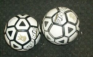 2 lot Brine Phantom X Soccer Ball Size 5 New NFHS  - USED - USED