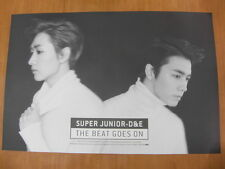 SUPER JUNIOR D&E THE BEAT GOES ON (Ver. B) [OFFICIAL] POSTER DONGHAE&EUNHYUK