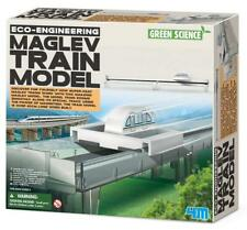 Eco-Engineering Maglev Train Model Green Science Super Fast Train magnetism 8+