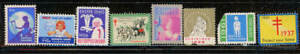 64 CHRISTMAS, EASTER SEALS, CRIPPLED CHILDREN STAMPS AS SHOWN (A)