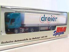 AWM 1/87 70422 Iveco Pritschensattelzug dreier OVP (TR7062)