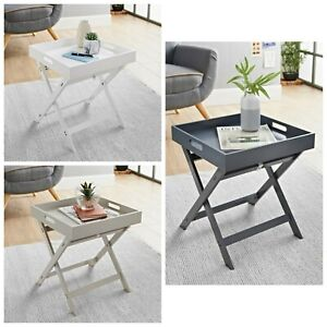 New Superb lovely Bjorn Folding Tray Table Side Table Bedroom Furniture