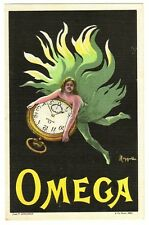 POSTCARD FRENCH CAPPIELLO OMEGA WATCHES