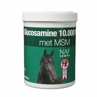 NAF Glucosamine 10,000 & MSM - For Horses and Ponies -900G Tub - BN