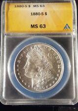 1880-S Morgan Silver Dollar MS 63