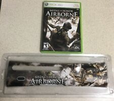 Medal of Honor: Airborne (Microsoft Xbox 360, 2007) and Xbox 360 Faceplate