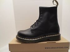 DR. MARTENS 1460 BLACK 11821006 SMOOTH LEATHER BOOTS WOMENS Size 9 NEW