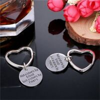 Good Friends Gift Not Sisters By Blood But Sisters By Heart Key Chain Fashion~