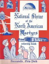 National Shrine of the North American Martyrs Coloring Book
