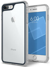 iPhone 8 Plus 7 Plus Caseology [COASTLINE] Shockproof Clear Slim Hard Case Cover