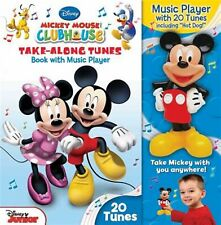 Disney Mickey Mouse Clubhouse Take-Along Tunes Book Music P by Disney Mickey Mou