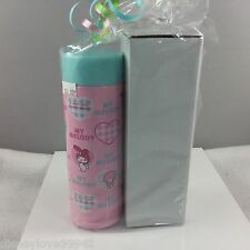 Sanrio Hello Kitty MY MELODY Pink Travel To Go Insulated Bottle NIP