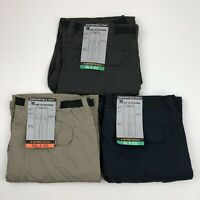 BC Clothing Men's Convertible Pants Stretch Relaxed Fit Gray Khaki Blue XL XXL