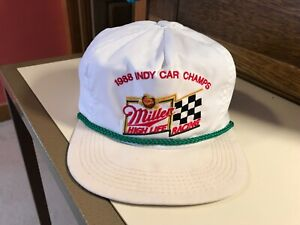 1988 Indy Car Champs Miller High Life Racing Hat